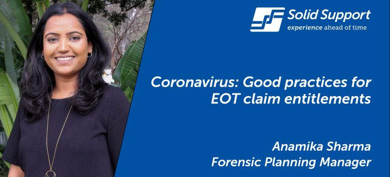 Coronavirus: Good practices for EOT claim entitlements